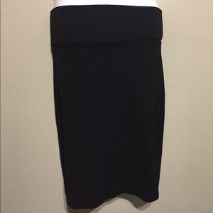 Agnes andDora Pencil Skirt Black- NWOT